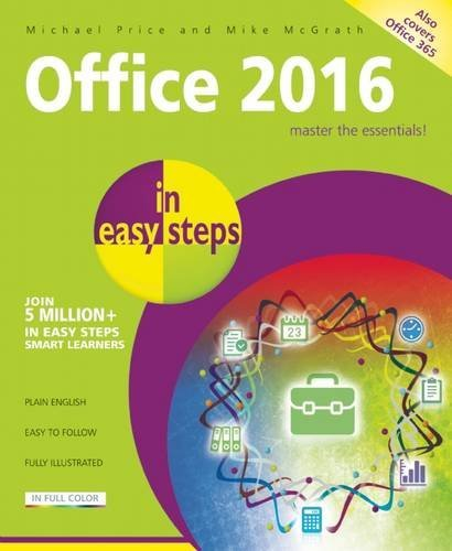 Office 2016 in easy steps by Michael Price (2016-04-26)