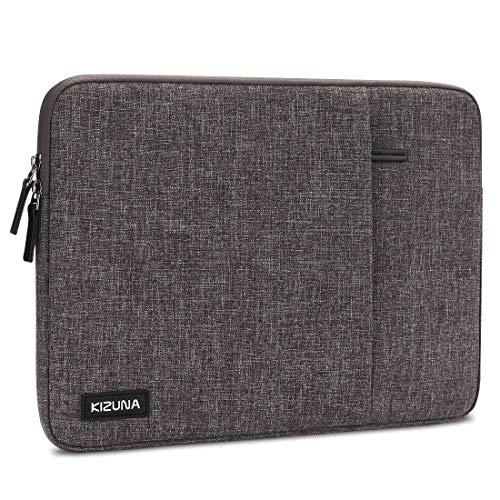"KIZUNA Laptophülle 11-11.6 Zoll Tablet Hülle Tasche Notebook Sleeve Schutzhülle Case Bag Für 12.3\"" Microsoft Surface Pro 6/New 12\"" MacBook/12.9\"" iPad Pro 2018/Dell XPS 13/Huawei MateBook 13/ASUS,Braun"