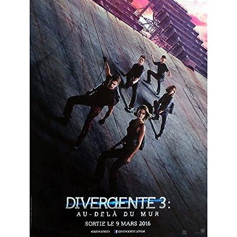 DIVERGENTE 3 Affiche de film 40x60 cm - 2016 - Shailene Woodley, Robert Schwentke