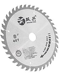 HITSAN Effetool 8 Inch 40 Teeth Circular Saw Blade Cutting Blade For Wood