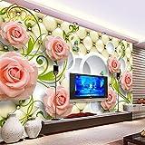 L22LW Wandbild Fototapete Stieg Leder 3D Wandbild Tapete Wohnzimmer Tapete Tv Hintergrund Dekoration Geeignet Für Wohnzimmer, Schlafzimmer, Tv Hintergrund Wand, Flur 3336Cm (H) * 236Cm