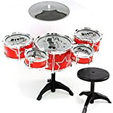 Plating tambor Set Niños Beating Tambores Musicales Juguetes, si (B)