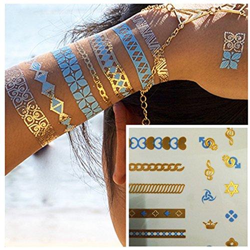 lzc-15x20cm-nuevo-totem-impermeable-tatuaje-temporal-metalico-joyeria-brazalete-collar-anillo-destel