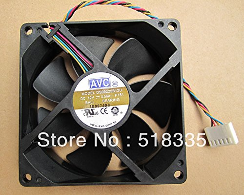 KTC Computer Technology The original AVC 9025 9225 DS09225B12U double ball temperature control PWM server fan 4-wire 6P