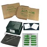 10 Staubsaugerbeutel + Aktivfiltersystem + 10 Duft geeignet für Vorwerk Tiger 251 252