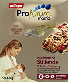 Milupa Profutura mama Müsliriegel für Stillende Schoko-Cranberry, 4er Pack (4 x 200 g)