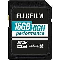 Fujifilm Scheda Secure Digital, Classe 10, 16