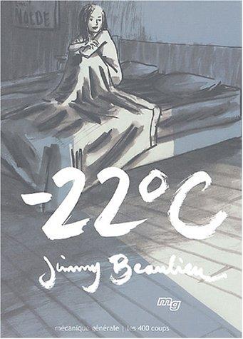 Moins vingt-deux degrés Celsius (-22° C)