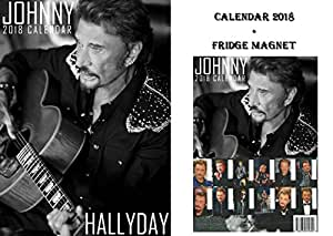 johnny hallyday kalender 2018 johnny hallyday. Black Bedroom Furniture Sets. Home Design Ideas