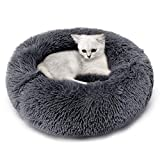 Legendog Katzenbett Katzenhöhle Katze Schlafsack Haustier Bett Unterhose Beweis Plüsch Weich Runden Katze Schlafen Bett Klein Hund Bett