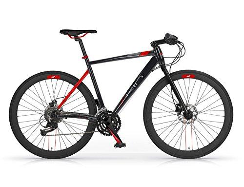 MBM Skin, Bicicletta Ibrida Uomo, Nero A01, 54