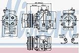 NISSENS 89235 Kompressor, Klimaanlage
