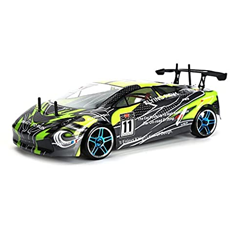 HSP Rc Drift Car 4wd 1/10 Scale Electric Power On Road Drift Rc Car 94123 FlyingFish Ready To Run High Speed Remote Control