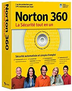 Norton 360 (3 PC) version 1