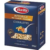 Barilla Pâtes Coquillettes Intégrale Blé Complet 500 g