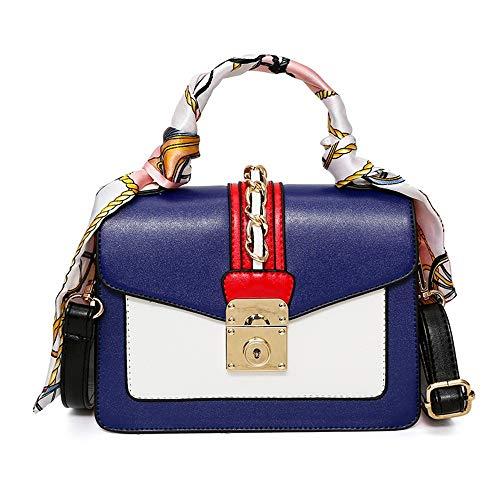 libest Frauen Reversible Schal Tote Bag Kunstleder Schulter Handtasche Large Shopper Set -