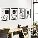 GOUZI 励 culture wall decorations,03 innovation, Removable wall - Best Reviews Guide