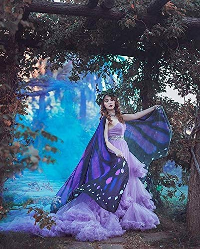 Pixie Kostüm Pink - Schmetterlingsflügel monarch violett pink flügel mantel kostüm erwachsener feenhafte
