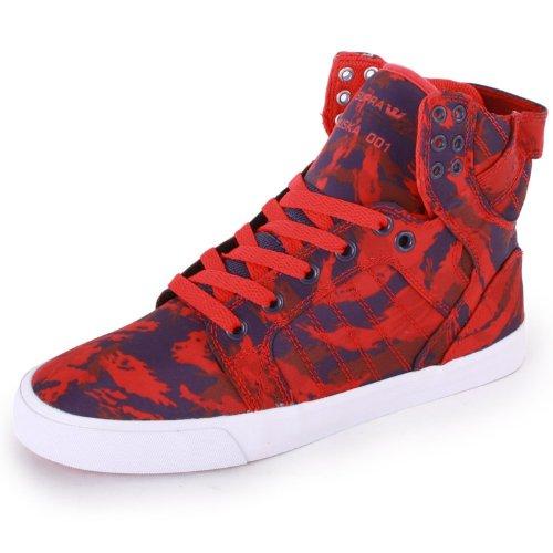 Supra  WOMENS SKYTOP,  Damen Sneaker Rot - rot