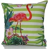 Sunburst Outdoor Living 45cm x 45cm AFFECTION Federa decorativa per cuscini per divano, letto, sofà o da esterni - Solo federa, no interno