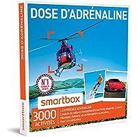SMARTBOX - Coffret Cadeau - DOSE D'ADRÉNALINE - 2620 activités : FORMULE RENAULT, GT D'EXCEPTION (FERRARI F458, MASERATI), PARAPENTE, FLYBOARD