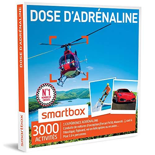 SMARTBOX - Coffret Cadeau - DOSE D'ADRÉNALINE - 2620 activités : FORMULE RENAULT,...