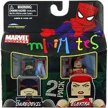 Marvel Minimates Series 38Mini figura 2Pack Elektra mal Daredevil