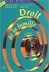 Droit de la famille : 4ème édition