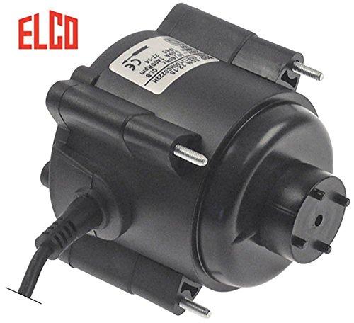 ELCO Lüftermotor 230V Kabel 1000mm 50/60Hz 14W Breite 80mm L3 95mm 1400U/min L2 35-56mm IQ-Motor