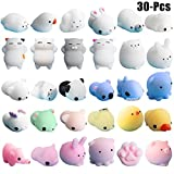 #8: Fansport Squishy Toy Set Cute Cartoon Animals Slow Rising Squeeze Toy Stress Relief Toy for Kids(Random Color)