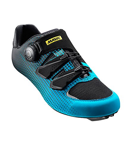 Mavic Ksyrium Haute Route Rennrad Fahrrad Schuhe blau/weiß 2017