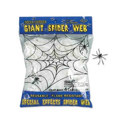 Beistle FR Giant Spider Web Fall Pack 108