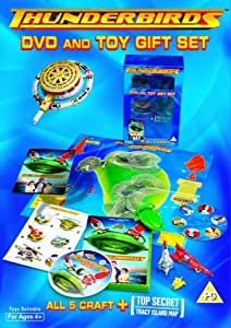 2004 Set of all 5 Thunderbirds and DVD BANDAI