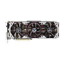 KKmoon Bunte iGame NVIDIA GeForce GTX 1070Ti Vulcan AD Grafikkarte 1607 / 1683MHz 8Gbps GDDR5 256bit PCI-E 3.0 DirectX 12 SLI VR-kompatibel mit HD DP DVI-D Port