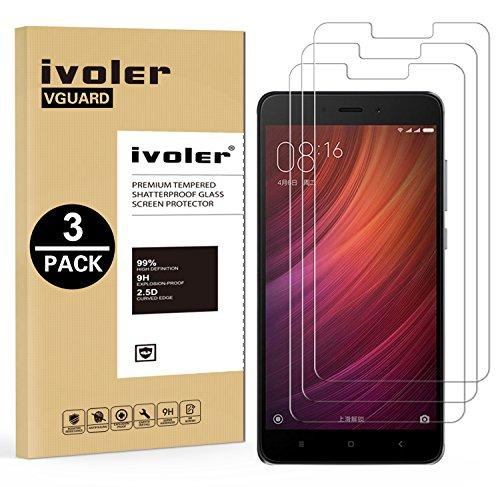 IVoler [3 Unidades] Protector Pantalla Xiaomi Redmi