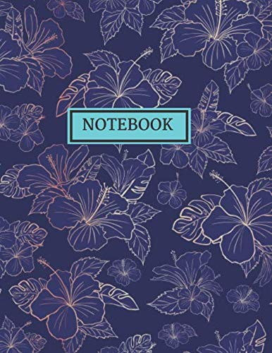 RULED NOTEBOOK: Vintage Floral/Flowers Designs Journal, Notebook, Diary, (College Ruled), Vintage Flowers and Botanical Designs, Composition Book. ... GUYS, MEN, WOMEN AND STUDENTS OF ALL AGES. Floral Tulip-rock