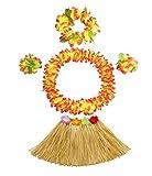 Trajes de fiesta de Navidad Kids Party Hula hawaiano de la falda de hierba