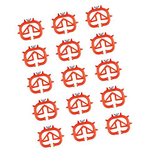 Sharplace 15 Pièces De Trèfle Pour Petit Sevrage Utilisation À Ferme Pour Bétail Trèfle Durable, Confortable