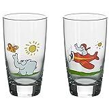 Otto by Ritzenhoff AG OW-0019 Longdrinkglas, Cocktailglas, Ottifanten, Otto Waalkes, 400 ml, 2-er Set