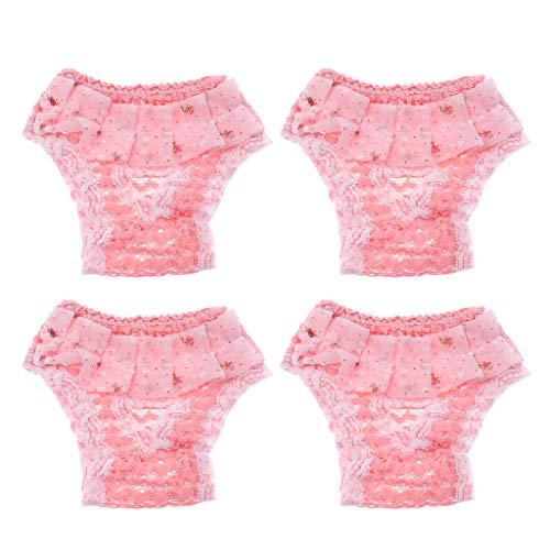perfk Pañal Femenino de Ropa Interior Pantalones...