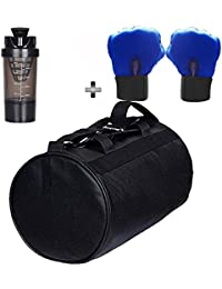 SOOPLE SPORTZ Gym Bag Combo Set Enclosed With Soft Leather Gym Bag For Men And Women For Fitness - Bag Size 49cm... - B07CSRH58H