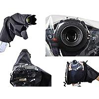 Protección de lluvia profesional para Nikon D90, D200, D300, D600, D610, D750, D3100, D3200, D3300, D5100, D5200, D5300, D7000, D7100, D7200 - Por favor refiérase a las notas
