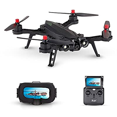 Goolsky MJX Bugs 6 B6 720P Camera FPV Drone 250mm High Speed Brushless Racing Quadcopter with G3 Goggles by Goolsky