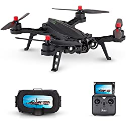 Goolsky MJX Bugs 6 B6 720P Cámara 5.8G FPV Drone 250mm de alta velocidad Brushless Racing Quadcopter con gafas G3