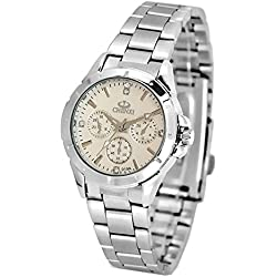 ufengke® fashion casual luminous rhinestone wrist watch,waterproof watch for women-white,decorative small dials