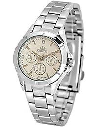ufengke® mode lässig leuchtenden strass handgelenk armbanduhren,wasserdicht armbanduhren für frauen-weiß, dekorative kleine Zifferblätter