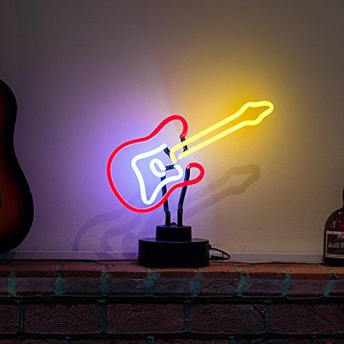 E-Gitarre Neon Skulptur 240V 3Zinken UK