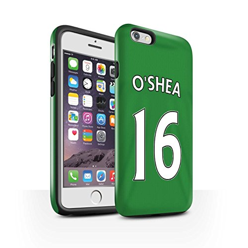 Offiziell Sunderland AFC Hülle / Glanz Harten Stoßfest Case für Apple iPhone 6S / M'Vila Muster / SAFC Trikot Away 15/16 Kollektion O'Shea