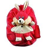 Kids School Bag Soft Toy Plush Backpack Cartoon Bag Children's Gifts Boy/Girl Baby/Decor School Bag For Kids (Rabbit)