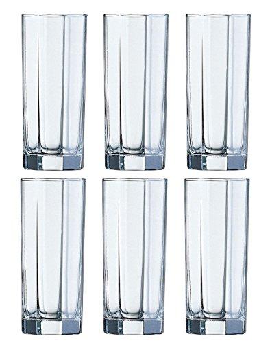 6 hohe Gläser Longdrinkgläser OCTIME NEU&OVP